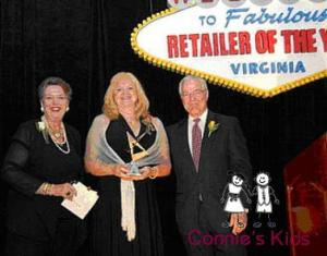 "Connie's Kids won Chesapeake's ""Retailer of the Year"" award three years in a row!"